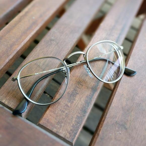 dd58a33a13 ray-ban round metal optical glasses. M 5af1f3fea825a6c1baa9c9fe